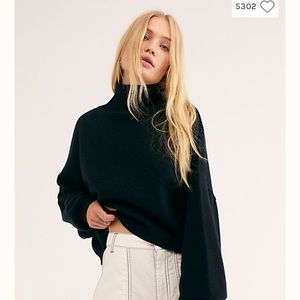Free People 100% Cashmere Sweater